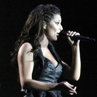 Cheryl Cole Performing Live in Concert