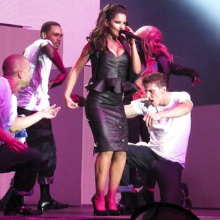Cheryl Cole in Cheryl Cole Performing Live in Concert