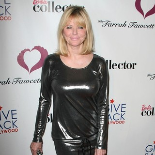 Cheryl Tiegs in Give Back Hollywood's Farrah Fawcett Foundation Pre-Emmy Cancer Benefit