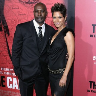 Morris Chestnut, Halle Berry in Los Angeles Premiere of The Call