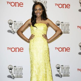 China Anne McClain in 45th NAACP Image Awards - Press Room