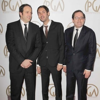 Simon Chinn, Malik Bendjelloul in 24th Annual Producers Guild Awards - Arrivals