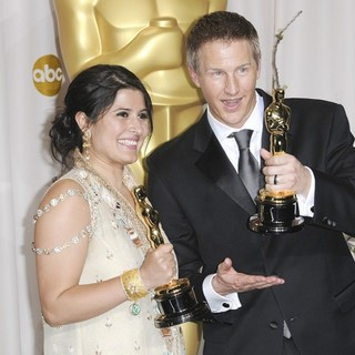 Sharmeen Obaid-Chinoy, Daniel Junge in 84th Annual Academy Awards - Press Room
