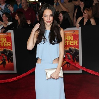 Chloe Bridges in Premiere of Walt Disney Pictures' John Carter