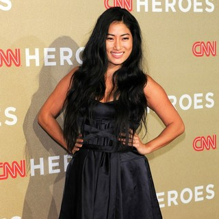 Chloe Flower in CNN Heroes: An All-Star Tribute - Arrivals