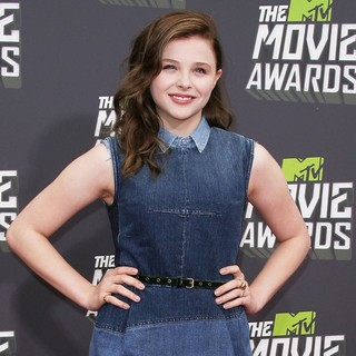 Chloe Moretz in 2013 MTV Movie Awards - Arrivals