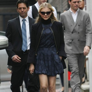 Chloe Moretz in Chloe Moretz Outside The ITV Studios