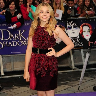Chloe Moretz in UK Premiere of Dark Shadows - Arrivals