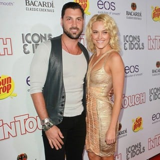 Maksim Chmerkovskiy, Peta Murgatroyd in Icons and Idols 2012 VMA After Party Hosted by In Touch Weekly