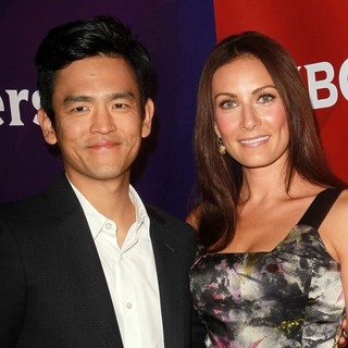 John Cho, Laura Benanti in NBC Universal Press Tour