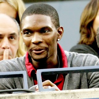 Chris Bosh in Celebrities Watch The Men's Finals Match - Day 15 - 2010 US Open