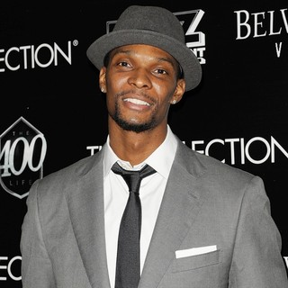 Chris Bosh in Dwyane Wade's 30th Birthday Celebration