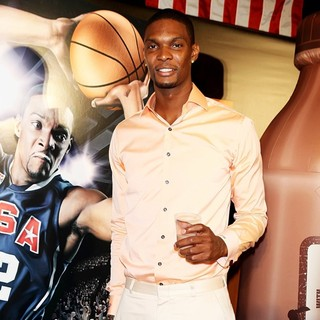 Chris Bosh in Chris Bosh Announce A New Campaign Highlighting The Importance of Tefueling with Lowfat Chocolate