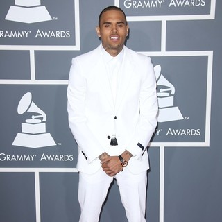 Chris Brown in 55th Annual GRAMMY Awards - Arrivals