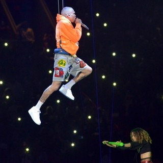 Chris Brown in Chris Brown Performing Live Onstage