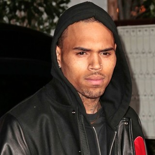 Chris Brown in Topshop Topman LA Opening Party - Arrivals