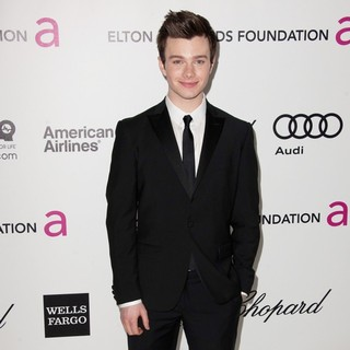 Chris Colfer in The 20th Annual Elton John AIDS Foundation's Oscar Viewing Party - Arrivals