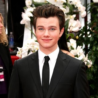 Chris Colfer in The 69th Annual Golden Globe Awards - Arrivals