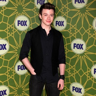 Chris Colfer in Fox 2012 All Star Winter Party - Arrivals
