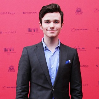 Chris Colfer in Champs Elysees Film Festival Opening- Arrivals