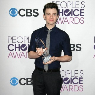 Chris Colfer in People's Choice Awards 2013 - Press Room
