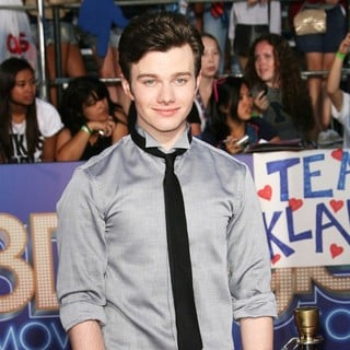 Chris Colfer in The World Premiere of Glee The 3D Concert Movie - Arrivals