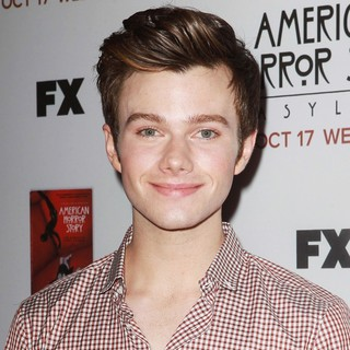 Chris Colfer in Premiere Screening of FX's American Horror Story: Asylum