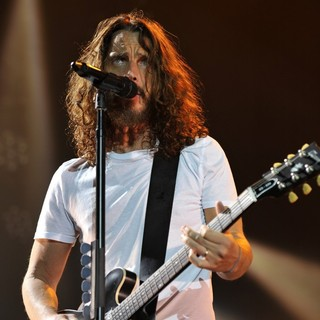 Chris Cornell in Soundgarden in Concert