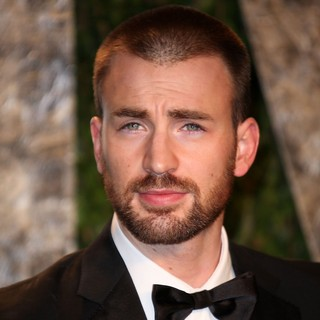 Chris Evans in 2012 Vanity Fair Oscar Party - Arrivals