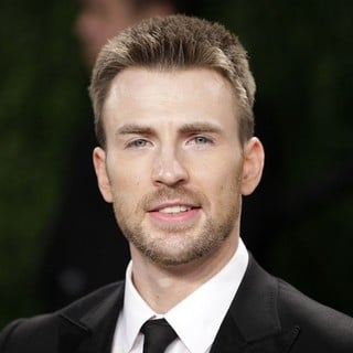 Chris Evans in 2013 Vanity Fair Oscar Party - Arrivals