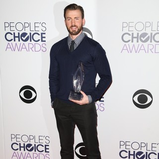 Chris Evans in The 41st Annual People's Choice Awards - Press Room