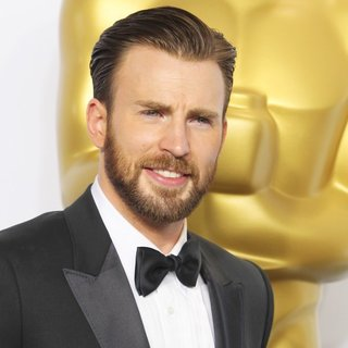 Chris Evans in The 87th Annual Oscars - Press Room