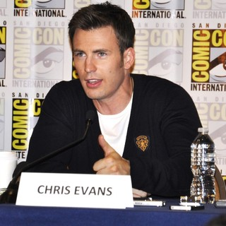 Chris Evans in Comic-Con International 2013 - Captain America: The Winter Soldier - Press Conference