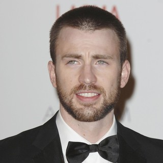 Chris Evans in LACMA's Art And Film Gala Honoring Clint Eastwood and John Baldessari