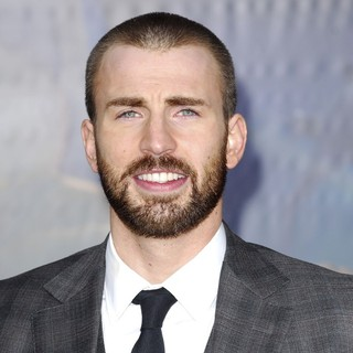 Chris Evans in World Premiere of The Avengers - Arrivals