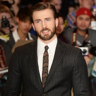 Chris Evans - UK Premiere of Captain America: The Winter Soldier