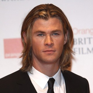 Chris Hemsworth in Orange British Academy Film Awards 2012 - Press Room