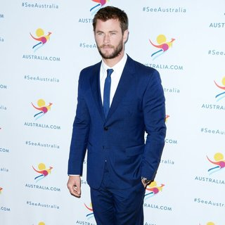 Chris Hemsworth - There's Nothing Like Australia Campaign Launch - Arrivals