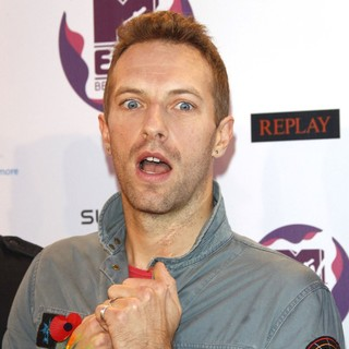 Chris Martin, Coldplay in The MTV Europe Music Awards 2011 (EMAs) - Arrivals