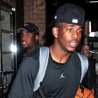 Chris Paul in Chris Paul Arrives at His Midtown Hotel