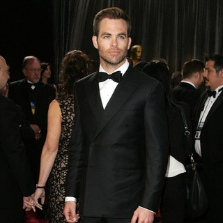 Chris Pine in The 85th Annual Oscars - Red Carpet Arrivals