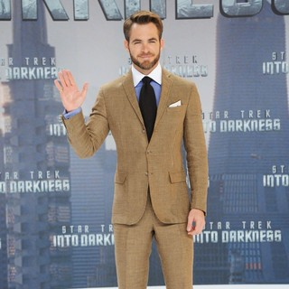 Chris Pine in The German Premiere of Star Trek Into Darkness