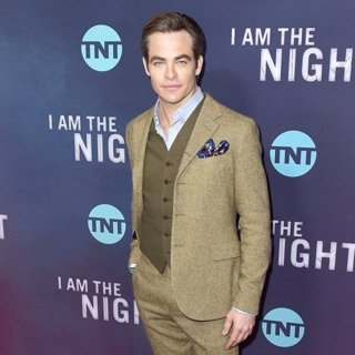 Chris Pine in Premiere of TNT's I Am the Night - Arrivals