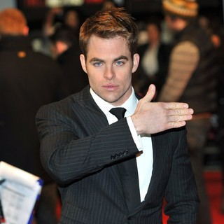 Chris Pine in UK Premiere of This Means War - Arrivals