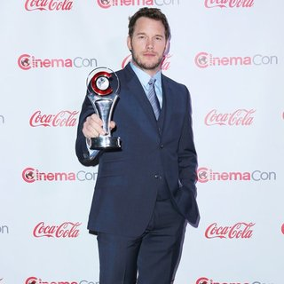 Chris Pratt in CinemaCon 2014 Presents The Big Screen Achievement Awards