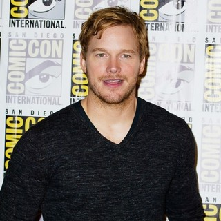 Chris Pratt in Comic-Con International 2013 - Marvel - Photocall