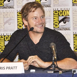 Chris Pratt in Comic-Con International 2013 - Guardians of the Galaxy - Press Conference