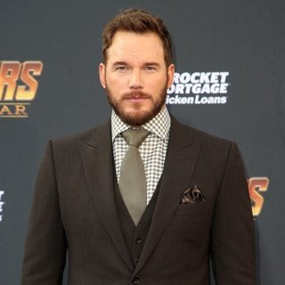 Chris Pratt in Avengers: Infinity War Premiere