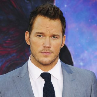 Chris Pratt in Film Premiere of Guardians of the Galaxy