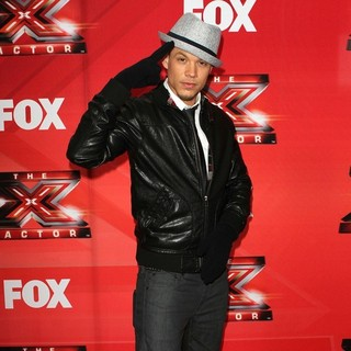 Chris Rene in FOX's The X Factor Press Conference